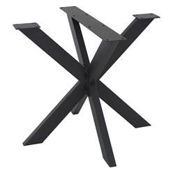 Tischbeine X-Design 85x71x85 cm schwarz aus Metall ML-Design