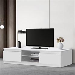 ML-Design TV-Lowboard weiß, 120x36x40 cm, aus MDF Spanplatte
