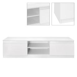 ML-Design TV-Lowboard weiß, 140x36x40 cm, aus MDF Spanplatte