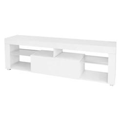 ML-Design TV-Lowboard weiß, 120x51x35 cm, aus MDF Spanplatte