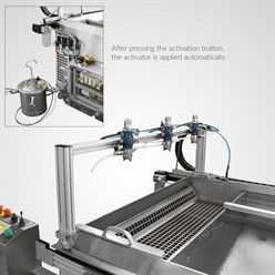 Water transfer printing Fully automatic activation unit for Big Dipper | 200 x 110 cm
