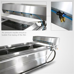 Water Transfer Printing fully automatic film-application-unit for Big Dipper | 200 x 110 cm