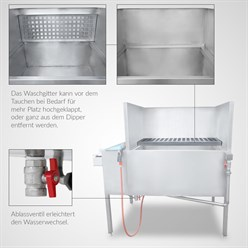Wassertransferdruck All in One Dipper | 100 x 80 cm