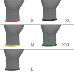Montagehandschuhe Grau Größe 11 / XXL