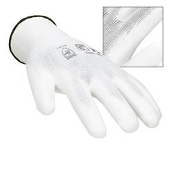 Montagehandschuhe Weiß Größe 10 / XL