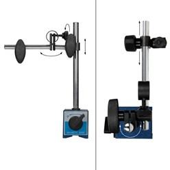 Messuhrhalter mit Magnet-Stativ