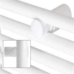 Badheizkörper Sahara 600 x 950 mm Weiß gerade + Seite