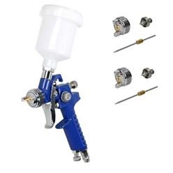 HLPV Lackierpistole 0,8mm mit 0,5mm/1,0mm Düsesatz