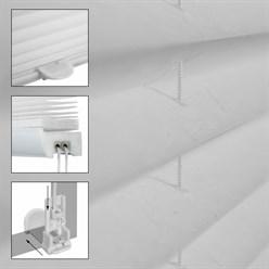 Plissee Grau 100x100cm