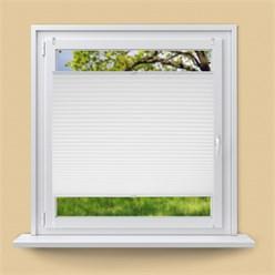 Pleated white 80 x 100 cm