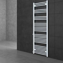 """Badheizkörper """"Sahara"""" gerade mit Seitenanschluss 900 mm Weiß 500 x 1800 mm"""