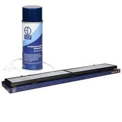 Aktivkohlefilter mit Klimaanlagenreiniger 400 ml