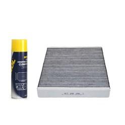 Innenraum-/ Pollenfilter mit Aktivkohle Audi Porsche VW inkl. Klimaanlagenreiniger