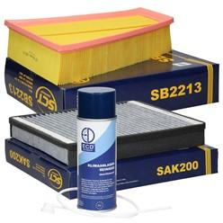 Filterpaket Ford Galaxy, Mondeo, S-Max, inkl. Klimaanlagenreiniger
