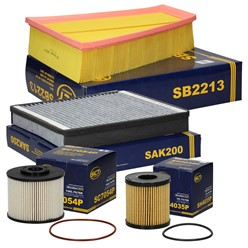 Filterpaket Ford Mondeo S-Max Galaxy