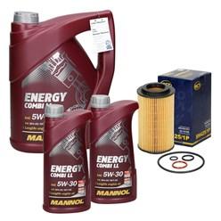Ölfilter + Energy Combi LL 5W-30 7L, Chrysler Crossfire, Mercedes-Benz S-Klasse (W220)
