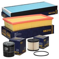Filterpaket Citroen JUMPY C8 SCUDO ULYSSE PHEDRA EXPERT 807