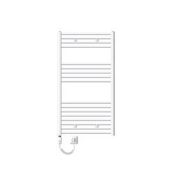 Badheizkörper Elektrisch 750x1200 mm Weiß, gebogen, 900 W