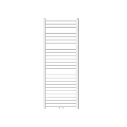 ECD Germany Sahara radiateur sèche-serviettes - 600 x 1500 mm - Blanc - courbé avec raccordement central