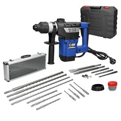 Bohrhammer 1800W SDS-Plus + Koffer + Steinbohrer