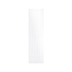 Stella Design Paneelheizkörper 480x1800 mm Weiß mit Mittelanschluss