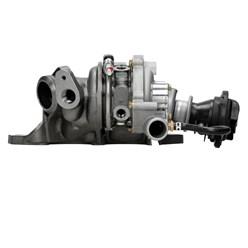 Turbolader inkusive Unterdruckdose und Krümmer Smart