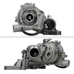 Turbolader Abgasturbolader mit Krümmer Abgaskrümmer Smart