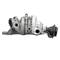 Turbolader Abgasturbolader Lader inkl. Abgaskrümmer mit Montagesatz Smart