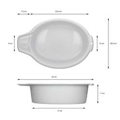 Waschbecken Weiß 6L