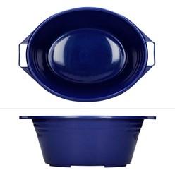 Schüssel Blau 39x28 cm