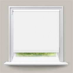 Verdunkelungsrollo Weiß, 80x150 cm, inkl. Befestigungsmaterial