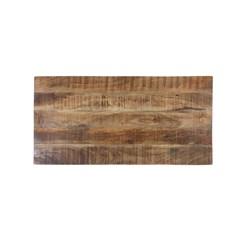 WOMO-DESIGN Couchtisch natur, 100x50x50 cm, aus Mangoholz