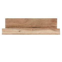 Wandregal Akazie Massivholz 60 cm