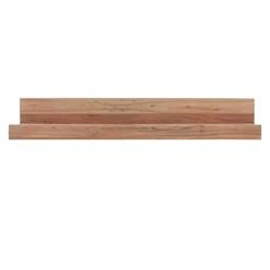 Wandregal Akazie Massivholz 110 cm