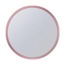 WOMO-DESIGN 2er Set Beistelltisch, kupfer, rund, aus Metallbeschichtung und Spiegelglas