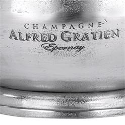 WOMO-DESIGN Champagnerkühler silber, Ø 38x22 cm, aus Aluminium