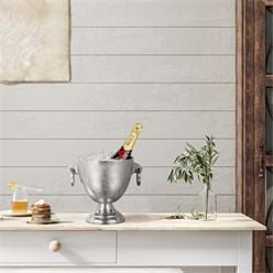 WOMO-DESIGN Champagnerkühler silber, Ø 19x23 cm, aus Aluminium