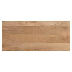 WOMO-DESIGN Kommode natur, 90x80x40 cm, mit 4 Schubladen, aus Mangoholz und MDF