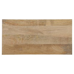 WOMO-DESIGN Kommode natur, 80x76x40 cm, mit 5 Schibladen, aus Mangoholz und MDF