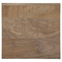WOMO-DESIGN Kommode natur, 40x88x38 cm, mit 5 Schubladen, aus Mangoholz und MDF