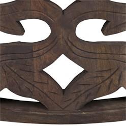 WOMO-DESIGN Couchtisch natur, Ø 100x45 cm, aus Mangoholz