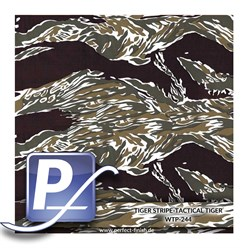 Water transfer printing film WTP-244 | 80cm TIGER STRIPE-TACTICAL TIGE