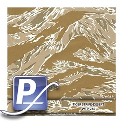 Water transfer printing film WTP-246 | 80cm TIGER STRIPE-DESER