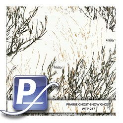 Wassertransferdruck Film WTP-247 | 80cm PRAIRIE GHOST-SNOW GHOST