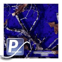 Wassertransferdruck Film WTP-314   100cm MOTHWINGS-GAMEDAY BLUE