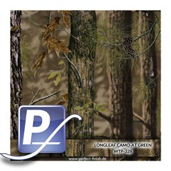 Water Transfer Printing film WTP-328 | 100cm LONGLEAF CAMO-AT GREEN