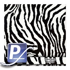 Wassertransferdruck Film WTP-519 | 100cm ZEBRA-SMALL