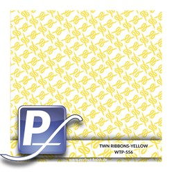 Wassertransferdruck Film WTP-556 | 100cm RIBBONS-YELLOW