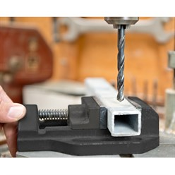 Maschinen-Schraubstock Backenbreite 100 mm Spannweite 90 mm