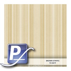 Wassertransferdruck Film YH-027F | 50cm BROWN STRIPES